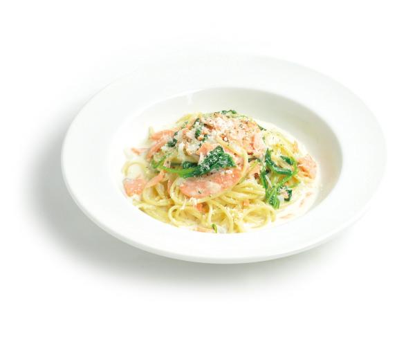 pasta-salmon-spinach