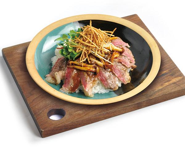 牛ステーキ丼
