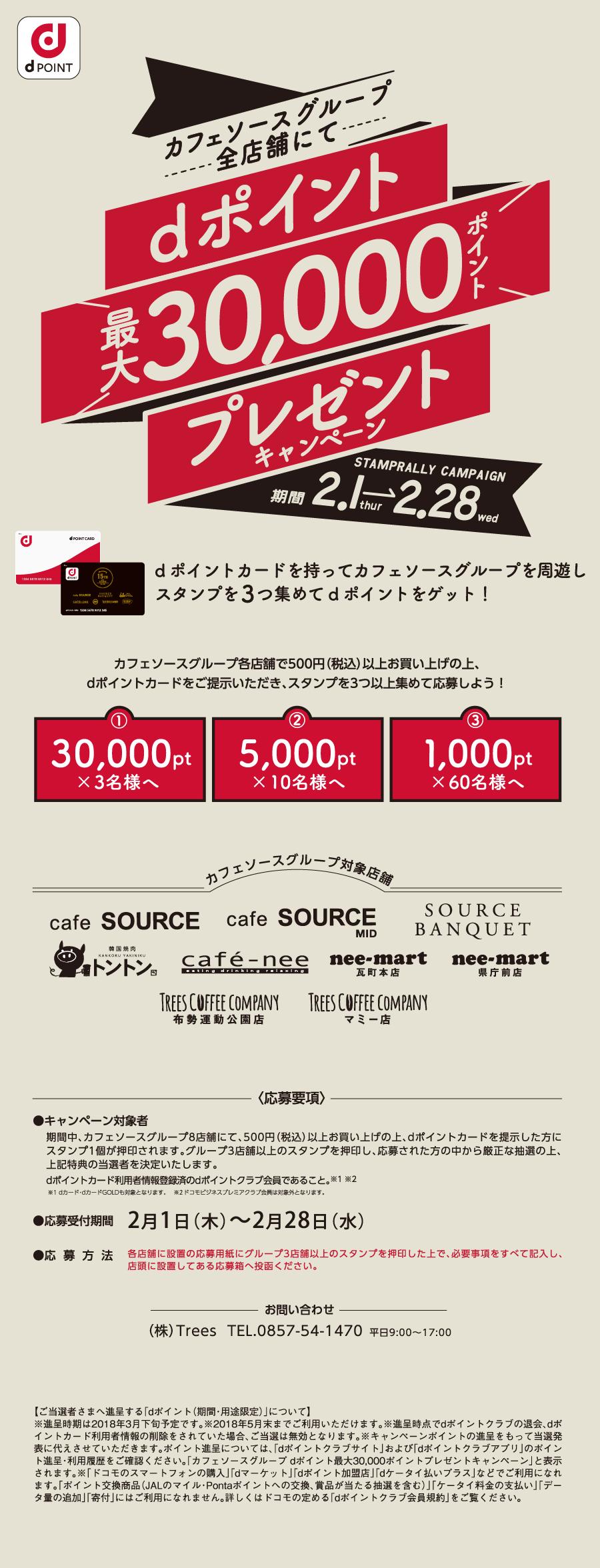 <h3>dポイント最大30000ポイントプレゼントキャンペーン</h3>