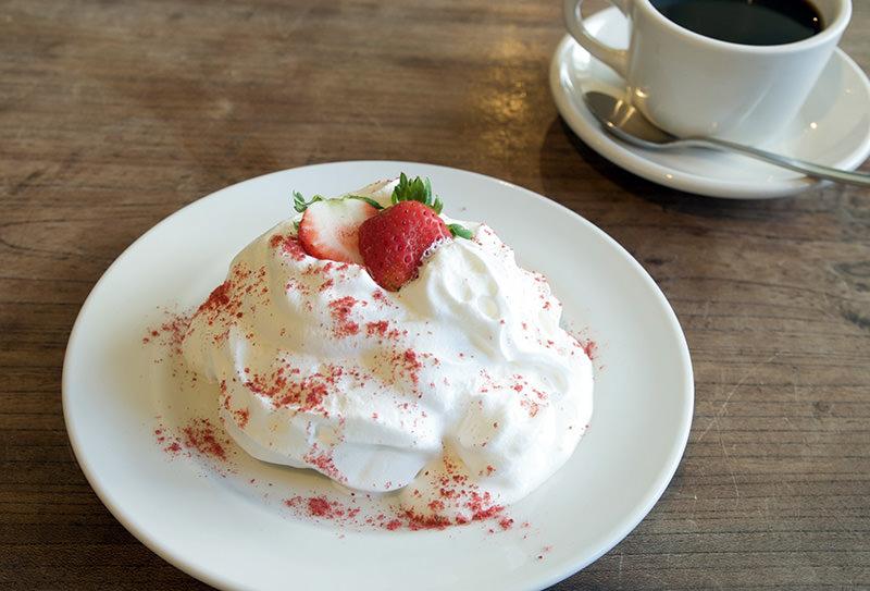大山ミルクのふわとろショートケーキ